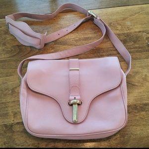 Balenciaga tube crossbody purse + mirror